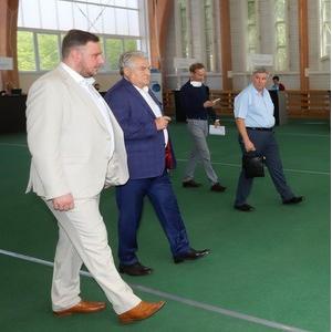 Председатель Самарской губернской думы ознакомился с работой приемной комиссии университета