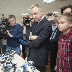 Самарский университет посетил министр образования Дмитрий Ливанов