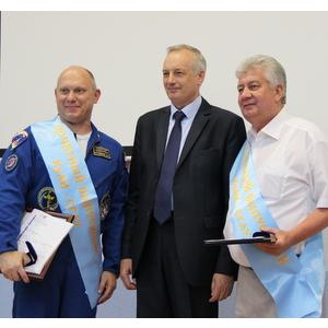Космонавт Олег Артемьев стал почётным выпускником КуАИ-СГАУ