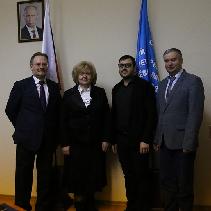 Самарский университет посетил Уполномоченным по правам человека в Самарской области