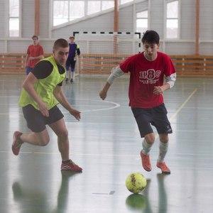 Мини-футбол в честь юбилея Красной Армии