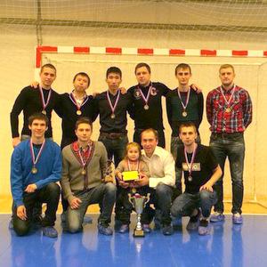 Команда СГАУ по мини-футболу стала третьей в городском дивизионе высшей лиги