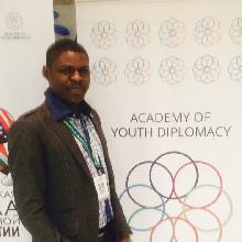 Студент СГАУ Майович Адебайо принял участие во Всероссийской школе молодёжной дипломатии