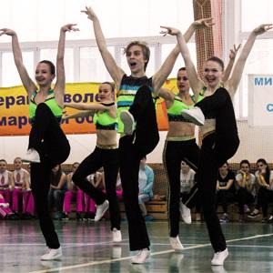 В СГАУ состоялись соревнования по фитнес-аэробике