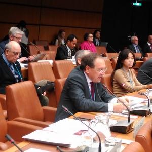 Представитель университета выступил на 55-ой сессии Комитета ООН по космосу