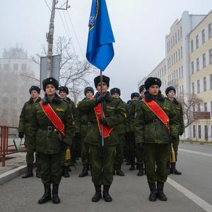 Студенты и сотрудники университета приняли участие в Параде Памяти