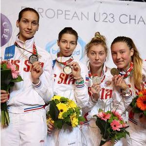 Виолетта Храпина – серебряный призер первенства Европы