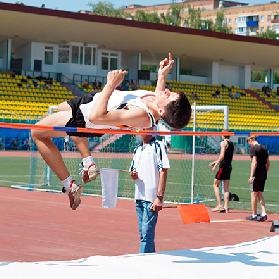 Прошла областная универсиада по лёгкой атлетике