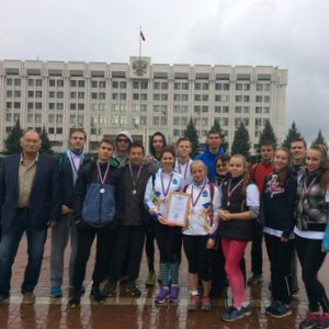 Сборная университета заняла второе место в студенческом зачете легкоатлетической эстафеты