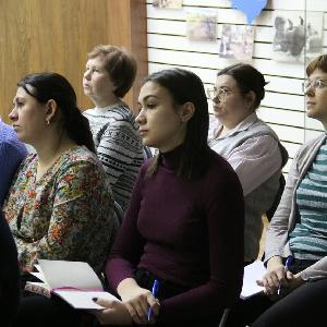 Состоялся первый в этом году образовательный семинар для студентов и преподавателей