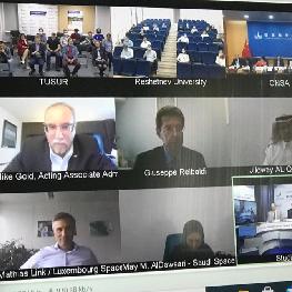 Юристы Самарского университета приняли участие в конференции Роскосмоса