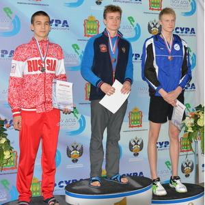 Студент СГАУ завоевал четыре золотые медали на чемпионате ПФО по плаванию