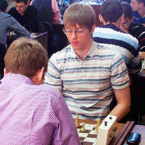 Прошли соревнования универсиады вузов по шахматам