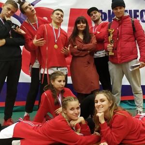 Фитнес-аэробика Самарского университета вне конкуренции