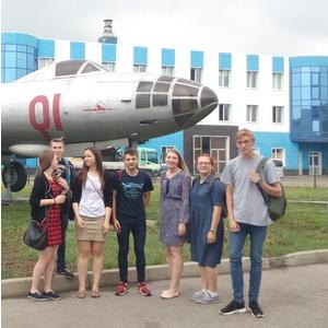 Студенты Самарского университета работали над самолетом МС-21
