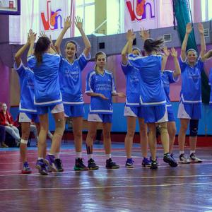 Представляем женскую баскетбольной сборную Самарского университета