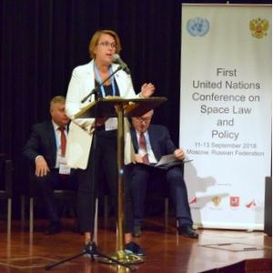 Делегация Самарского университета приняла участие в первой конференции ООН по космическому праву