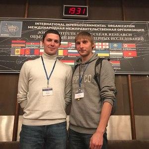 Сотрудники МНИЦТМ приняли участие в Международной научной конференции молодых ученых и специалистов ОИЯИ