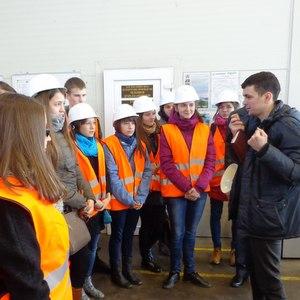 Студенты СГАУ побывали в цехах группы компаний «Электрощит»