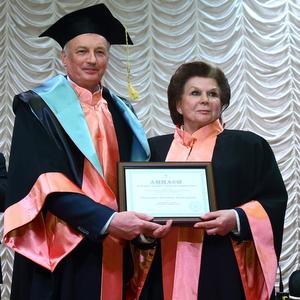 Валентине Терешковой присвоено звание почётного доктора Самарского университета