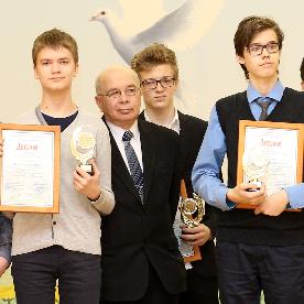 15 февраля состоялось награждение победителей окружного этапа олимпиад школьников