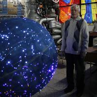 В музее авиации и космонавтики СГАУ появился глобус звёздного неба