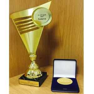 Разработка СГАУ завоевала золотую медаль в Швейцарии